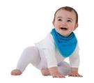 紐西蘭 Mum 2 Mum 機能型神奇三角口水巾圍兜-藍 吃飯衣 口水衣 防水衣