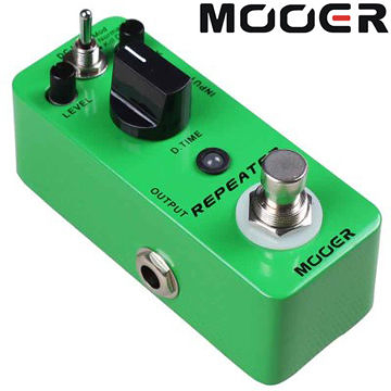 ★集樂城樂器★Mooer Repeater 延遲/並聯迴路效果器 Repeater【Digital Delay Pedal】MREG-RP