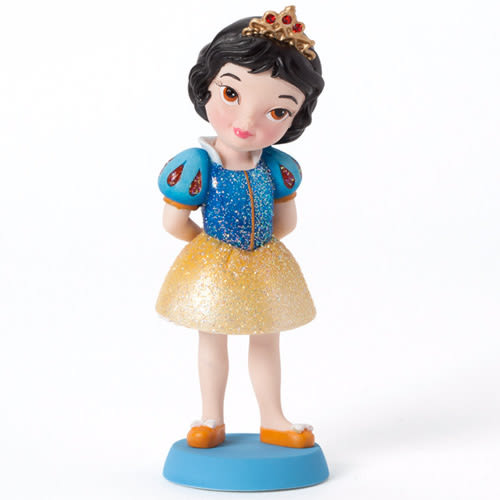 《Enesco精品雕塑》迪士尼公主Q版迷你塑像-白雪公主★funbox生活用品★_EN65808