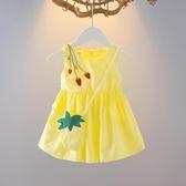 兒童連身裙 女寶寶夏裝1-3歲吊帶裙嬰兒裙子夏季兒童小公主6女童女孩連身裙夏 小宅女