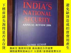 二手書博民逛書店INDIA S罕見NATIONAL SECURITY ANNUA