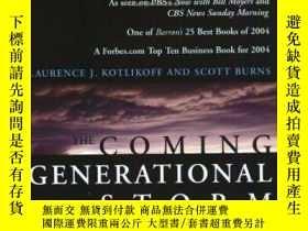 二手書博民逛書店The罕見Coming Generational StormY256260 Laurence J. Kotli