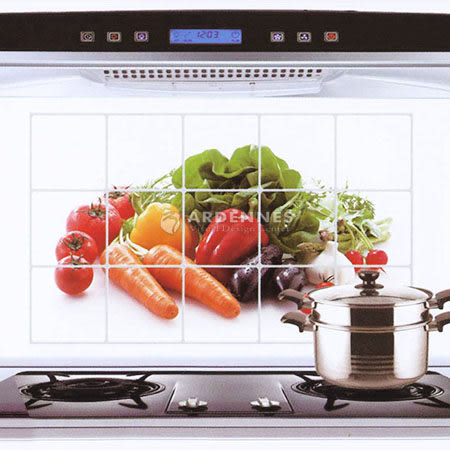 【ARDENNES】藝術防油貼/牆貼/居家佈置 新鮮蔬果KS009