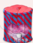 汗蒸箱 款汗蒸箱家用汗蒸房蒸汽桑拿浴箱月子發汗熏蒸機家庭單人折疊 MKS阿薩布魯