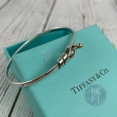BRAND楓月 TIFFANY&CO. 蒂芬妮 扭結 打結 金球 手環 手鐲 銀飾 扭結可打開