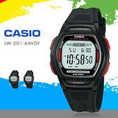 CASIO 多功能小巧運動錶款 LW-201-4A 34mm/防水/女錶/RD/禮物/LW-201-4AVDF 現+排單 熱賣中!