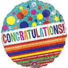 18吋鋁箔氣球(不含氣)-恭喜
