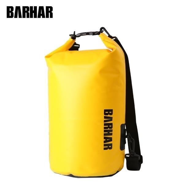 【南紡購物中心】巴哈 BARHAR 20L防水袋 黃色款有背帶