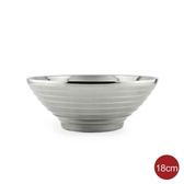 #304 日式拉麵碗 不鏽鋼碗 隔熱碗 18cm