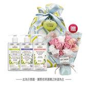 【Green Pharmacy草本肌曜】植萃私密潔膚露300mlx3 加贈永恆愛戀玫瑰皂花束+藍黃波普束口袋