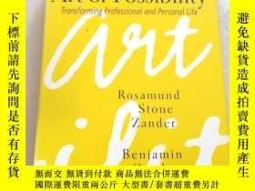 二手書博民逛書店The罕見Art of Possibility:Transfor