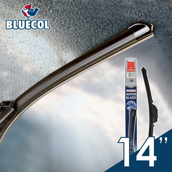 BLUECOL藍雀Aero-Flexible高彈性氣動軟骨雨刷14吋(355mm)