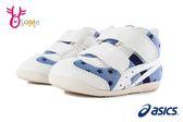 ASICS FABRE FIRST CT3 亞瑟士 寶寶運動鞋 小童 高筒 足弓墊 機能鞋 A9133#藍白◆OSOME奧森鞋業