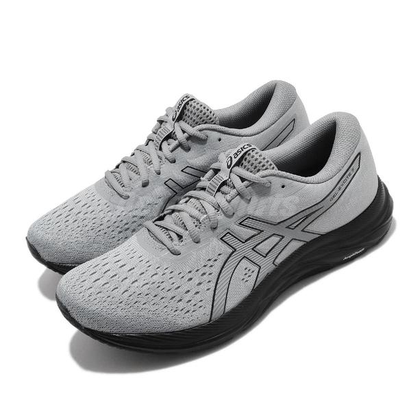 Asics 慢跑鞋 Gel-Excite 7 灰 黑 男鞋 避震 緩衝 運動鞋 【ACS】 1011A657025