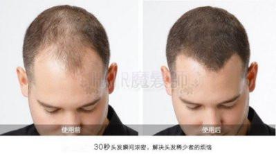 *買一送一*(現貨免運)魔髮粉 美國 增髮纖維假髮 黑色 25g長黑髮 稀髮 禿頭 髮粉 髮量濃密