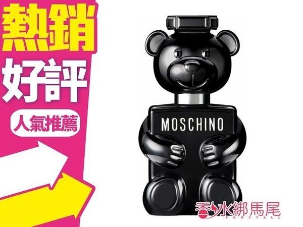 Moschino Toy Boy 黑色泰迪熊 100ml TESTER◐香水綁馬尾◐