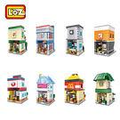 LOZ 迷你鑽石小積木 街景系列 便利商店 咖啡店 速食店 樂高式 組合玩具 益智玩具 原廠正版