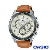 CASIO卡西歐 高科技智慧工藝結晶賽車男腕錶-白x47mm  EFR-552L-7A