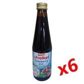 (6瓶特惠) Voelkel 維可 蔓越莓汁 330ml/瓶 demeter認證