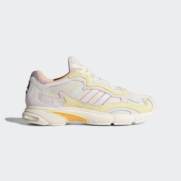 ISNEAKERS Adidas Originals Temper Run EG1077 白黃 復古 老爹鞋