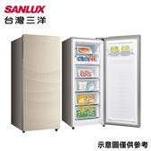 【SANLUX台灣三洋】165L直立式冷凍櫃SCR-165F