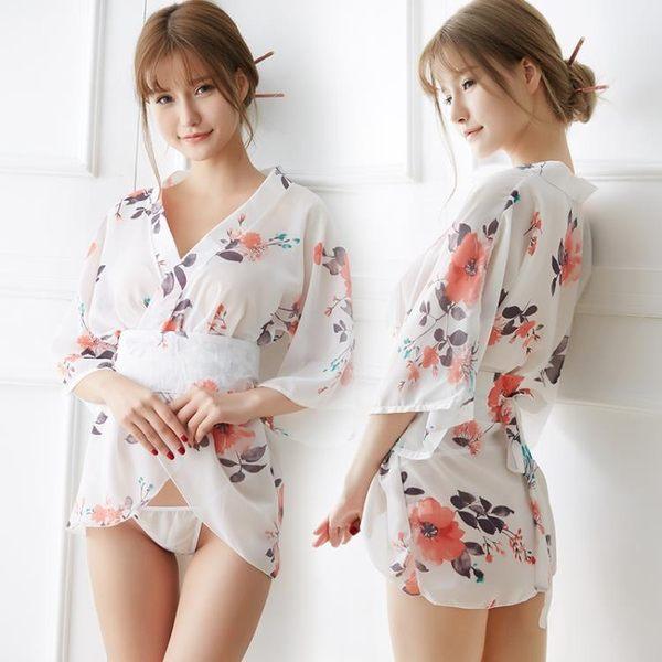 情趣內衣服大碼女性感夜店激情套裝騷日本和服制服誘惑透視【博雅生活館】
