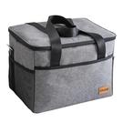 保溫袋手提冷藏包鋁箔加厚隔熱海鮮外賣專用大容量飯盒袋野餐冰包 陽光好物