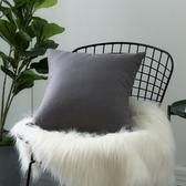 IN-HOUSE-棉麻抱枕-鐵灰(45x45cm)