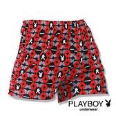 【Play Boy】MIT製造 兔頭剖圓四角褲『單件組』PN201-674A