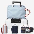 簡易手提行李包 行李拉桿包 防潑水 大容...