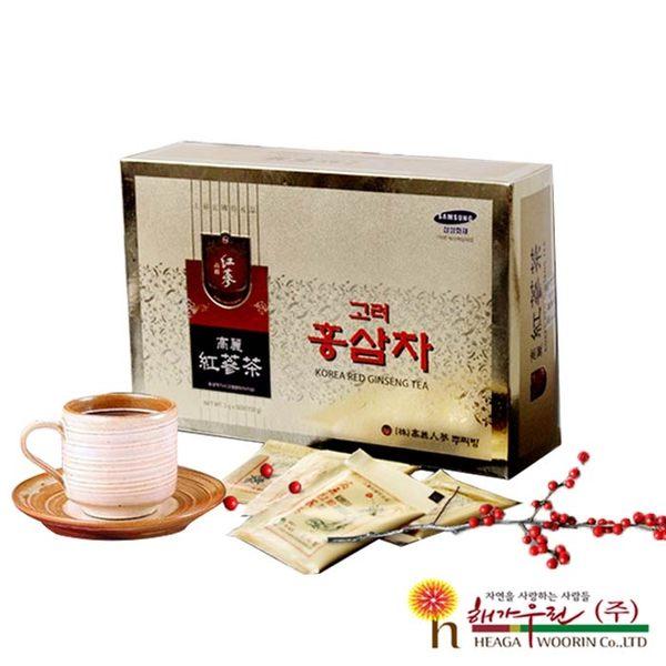 【外盒壓傷福利品】韓國原裝 高麗紅蔘茶 (3g×100包/盒) 年節禮盒 人蔘禮盒 最佳孝親禮盒 養生禮盒