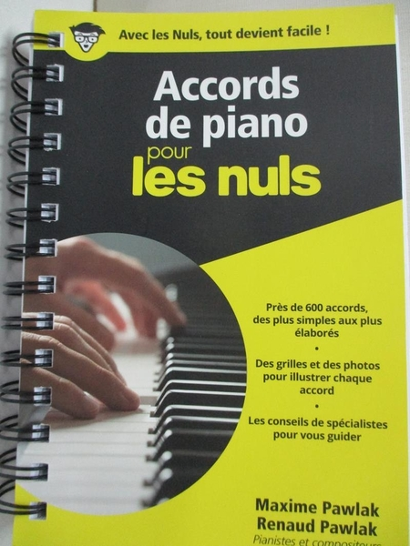 【書寶二手書T1/音樂_IVD】Accords de piano pour les nuls