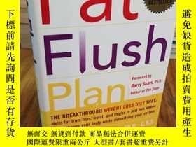二手書博民逛書店The罕見Fat Flush Plan,減肥計劃Y12800 Ann Louise Gittleman McG