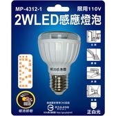 23LED感應燈泡(E27-正白光)