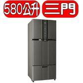 SAMPO聲寶【SR-N58DV(K2)】580公升變頻三門冰箱
