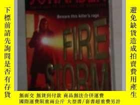 二手書博民逛書店英文原版罕見Firestorm by Iris Johansen