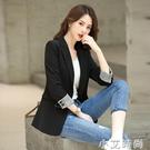 網紅小西裝西服外套裝女上衣2020新款夏秋韓版休閒氣質chic英倫風 小艾新品