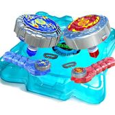 靈動魔幻陀螺2代發光玩具焰天火龍王深海冰龍神豪華對戰套裝 DA4241『黑色妹妹』