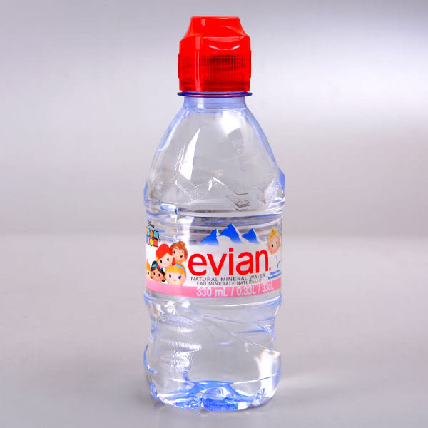 【evian】天然礦泉水(迪士尼瓶) 330ml