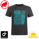 【MAMMUT 長毛象 男 Mountain T-Shirt 短袖上衣《幻影黑》】1017-09844/排汗衣/抗UV/運動衣