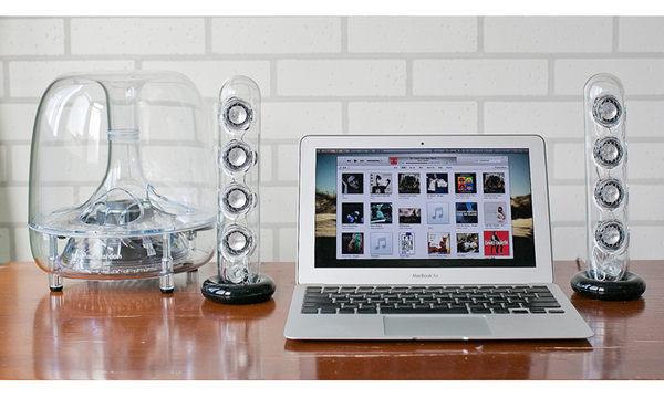 【台中平價鋪】 全新 Harman Kardon 2.1聲道多媒體喇叭 SoundSticks III 有線版  水母喇叭