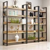 書架 家用鋼木書架書櫃置物架書架多層書櫥組合收納架儲物櫃貨架展示架 非凡小鋪 JD