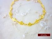 9999純金 金飾 簡單線條 黃金手鍊 手鍊