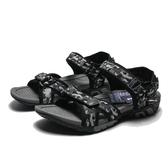 AIRWALK 黑灰 迷彩 雙黏帶 魔鬼氈 涼鞋 男女 (布魯克林) A751230225