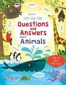 Lift-The-Flap Questions And Answers About Animals 翻翻學習書:動物問與答 精裝本
