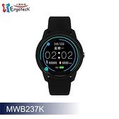 【Ergotech 人因科技】人因 ERGOLINK MWB237 全圓心率智慧監測運動手錶 黑色