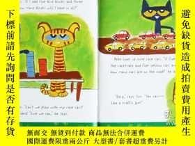 二手書博民逛書店精美禮盒裝罕見英文原版 Pete the Cat Groovy Box Of Books 皮特貓系列 6冊精裝兒童