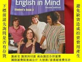 二手書博民逛書店English罕見in Mind Students Book 3 Second edition 【 】Y179