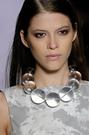 歐美 珍珠 透明球 項鍊