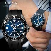 【人文行旅】CITIZEN 星辰   NY0075-12L 紳士風格 自動上鍊鈦金屬機械錶